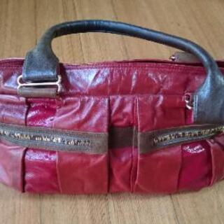 🍒ほぼ未使用🍒赤のトートバッグ
