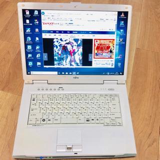 ⬛️富士通 15.4インチ/Core2/メモリ3GB/HDD25...