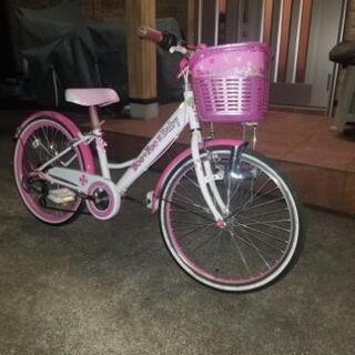 20インチ 女の子用自転車 格安です。
