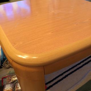 こたつテーブル ニトリ製品 相談中