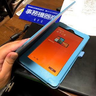 【美品】Kindle Fire7 カバー・保証書付き