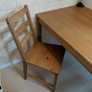 IKEA ダイニングチェア(新品、要組立)×2