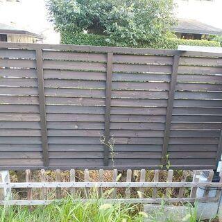 ルーパー ラティス⭐180cm6枚、90cm2枚あります。木の柵...