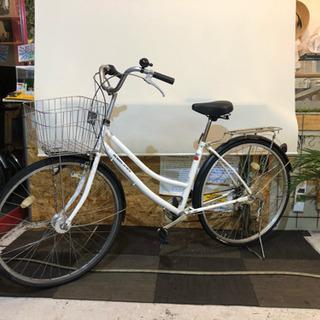 6速【LEDオートライト】27インチ 自転車