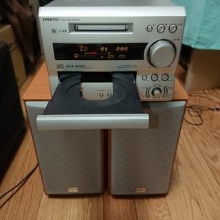 ONKYO CD/MDコンポ FR-X7 中古品