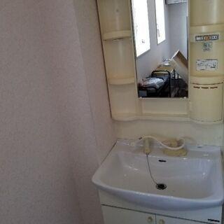 洗面化粧台750 中古ミカド 差し上げます