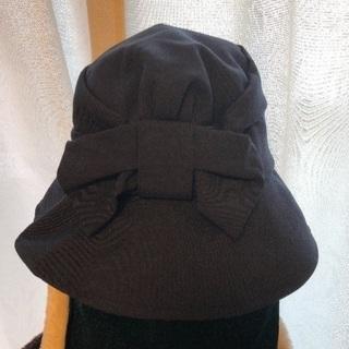 紺色の帽子