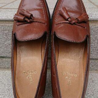 美品 リーガル REGAL 牛革 タッセル シューズ  ブラウン  22(22~22.5cm) - 北九州市