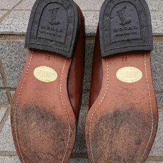 美品 リーガル REGAL 牛革 タッセル シューズ  ブラウン  22(22~22.5cm) - 靴/バッグ