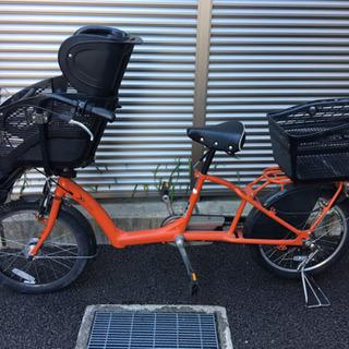 子供乗せ自転車 アンジェリーノ プティット 20インチ 3人乗り自転車