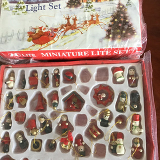クリスマス 電飾と飾り