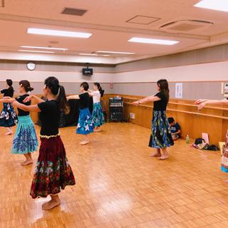 🌴日曜日クラス🌴熊谷フラ、フラ初級クラス🌈