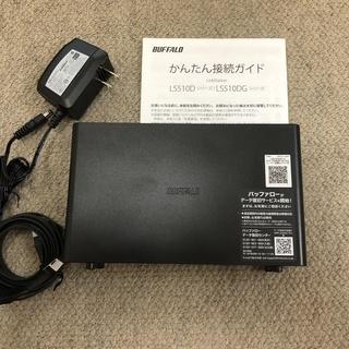 [未使用] BUFFALO NAS ネットワーク HDD 2TB...