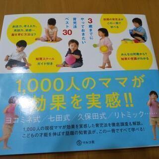 3歳までにやっておきたい育児法