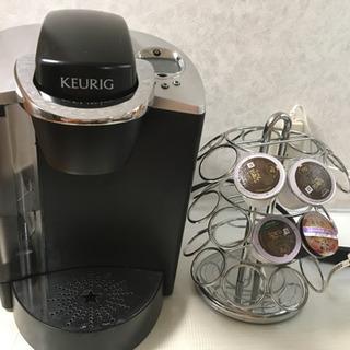 KEURIG  コーヒーメーカー&カプセルツリー