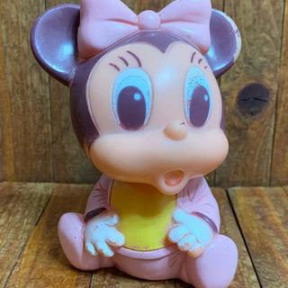【送料無料】ベビーミニーマウス★ディズニー★ソフビ★ラバードール...