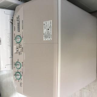 AQUA3.5K二層式洗濯機2016年製