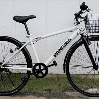 PANGaeA クロスバイク27インチ分解点検整備済