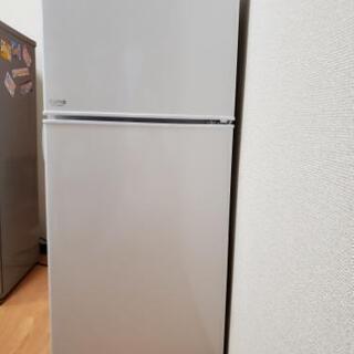 【交渉中】冷蔵庫あげます cuma amadana  (少々難有り)