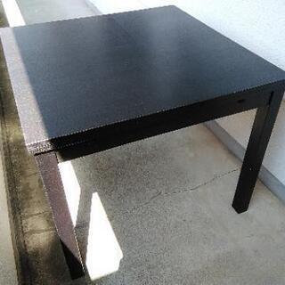 IKEA ダイニングテーブルセット(椅子2脚)