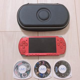 PSP3000 ケース、ソフト付き
