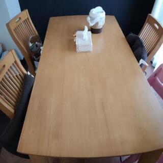 北欧シンプルダイニングテーブルセット