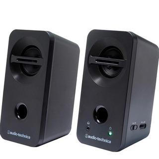 新品 オーディオテクニカ AT-SP93 BK 重低音 スピーカー