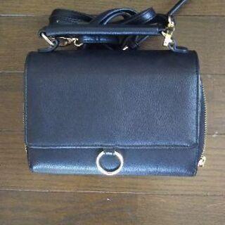 OZOCショルダーバッグ お財布がわりに いかがですか