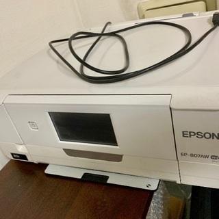 EPSON カラリオ プリンター EP807AW