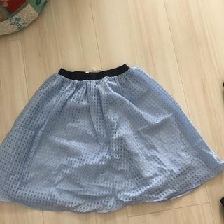 エフデ スカート ブルー