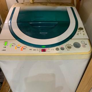 National(Panasonic)全自動洗濯機8kg ジャンク品