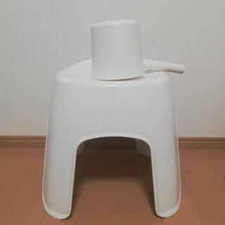 ニトリ お風呂セット 桶 風呂イス