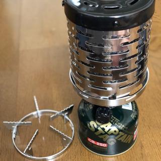 【未使用品3点セット】小型ガスバーナー+ストーブ+COチェッカー