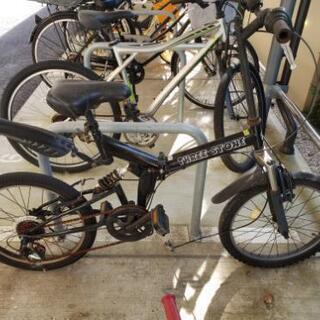 ジャンク 自転車 パーツ取りに