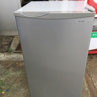 SHARP シャープ ノンフロン冷蔵庫 SJ-H8W-S 75L...