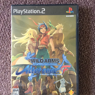 PlayStation 2 WILD ARMS After co...