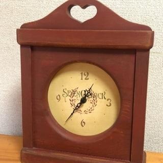 カントリー調 置時計