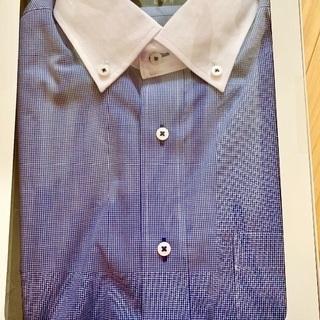 おしゃれ 新品箱入りカッターシャツ半袖
