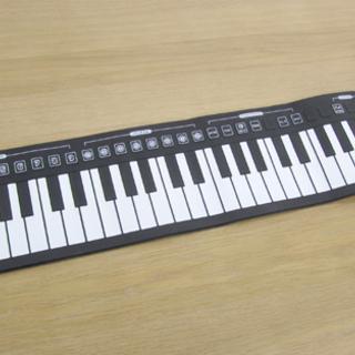 電子 ロール ピアノ 49鍵盤 コンパクト くるくる巻き 札幌市北区