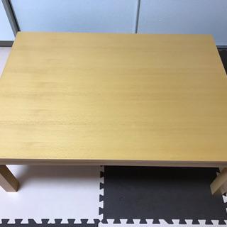 無印良品 こたつテーブル(長方形)