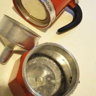 コーヒーメーカーBIALETTI モカ 3カップ レッド