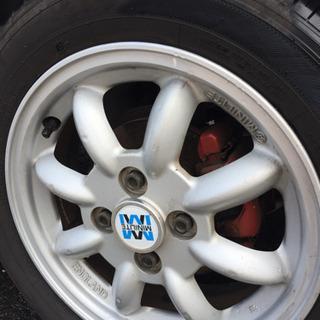 タイヤ&ホイール4本 MINI LITE