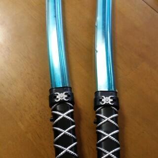 【お話し中】刀のおもちゃ 2本で