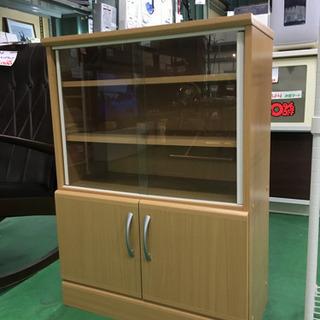 RF0756 【激安特価】コンパクトカップボード 食器棚 巾60㎝