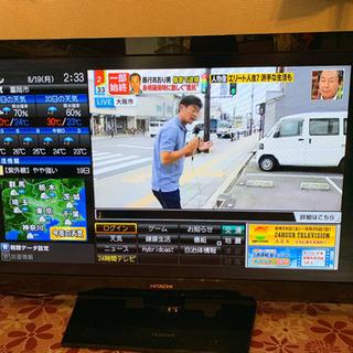 HITACHI液晶テレビ37型