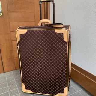 ラルフローレン モノグラム ロゴ 革 スーツケース 旅行バッグ