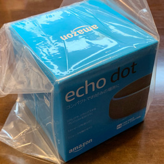 Amazon echo dot(第3世代) 新品未開封 チャコール