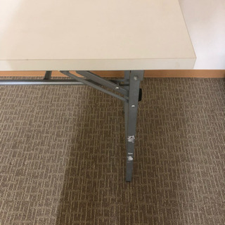 折り畳みテーブル(白)