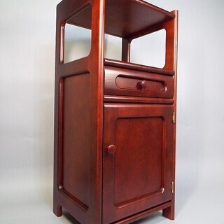 ★カリモク 木製 電話台 置物台 飾り棚★