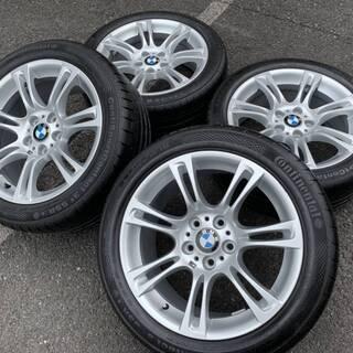 BMW5シリーズMスポーツ純正 18インチ F10系 ランフラット付き